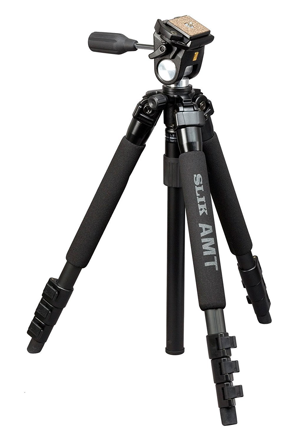 Slik Compact Alloy Travel Tripod with 3-Way Pan Head 613-338