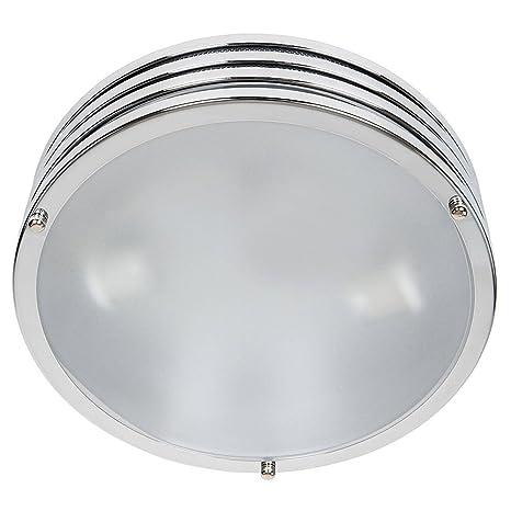 bakaji lámpara de Techo O Pared Plafón redonda de metal ...