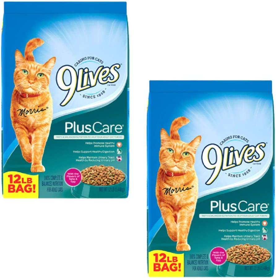9Lives Dry Cat Food (Plus Care, 24 LBS.)
