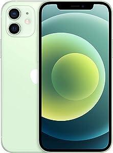 Apple iPhone 12, 256GB, Green - Fully Unlocked (Renewed)