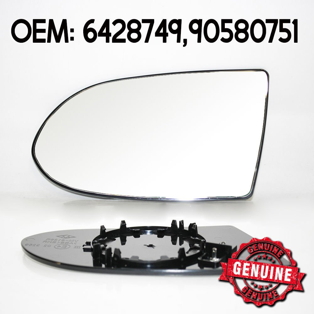 Boloromo 013707612 Cristal De Retrovisor Espejo Lado izquierda Exterior Calentables