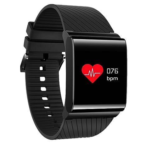 Amazon com: 0 96'' Colour Screen Smart Wristband Blood Pressure