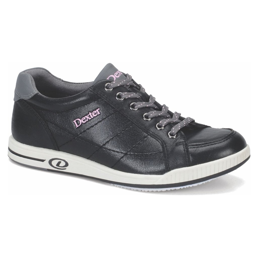 Dexter Womens Deanna Bowling Shoes- Right Hand (6 1/2 M US, Black/Pink)