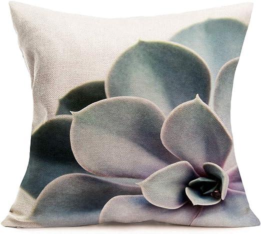 18/'/' Tropical Plant Sloth Pillow Case Sofa Waist Throw Cushion Cover Home Decor
