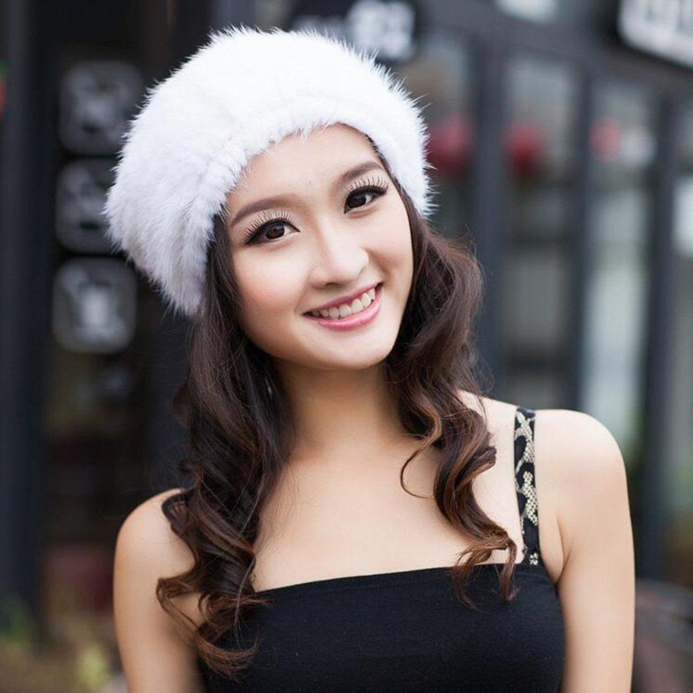 Schal Xiaolin- Winter Weibliche Models Weberei Fassdeckel Mode Warmer Hut Gehörschutz Hut -Warmer Freien (Farbe   Daylight Farbe)