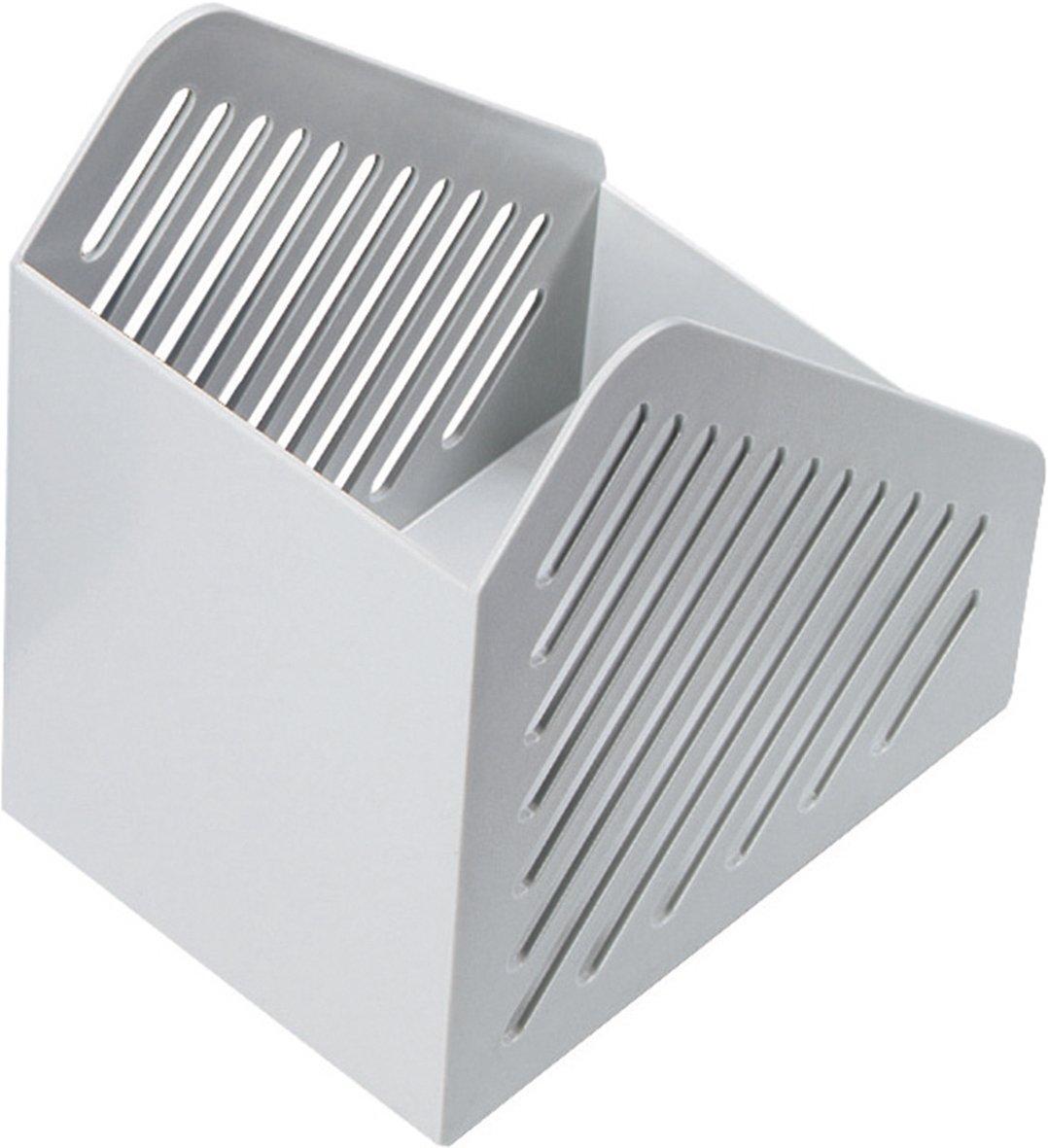 DIN A5 Helit H6361082/magazine file light grey