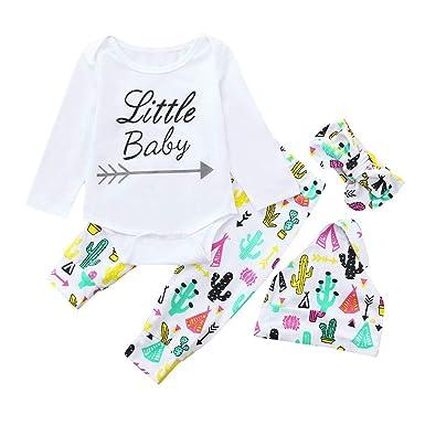 a5725ddc3c2b Amazon.com  DIGOOD Toddler Newborn Baby Boys Girls Fall Winter  Clothes