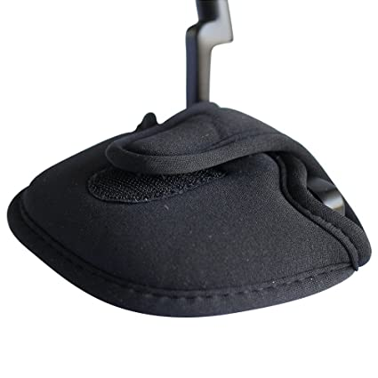 Amazon.com: Funda para cabezal de Putter de color negro ...
