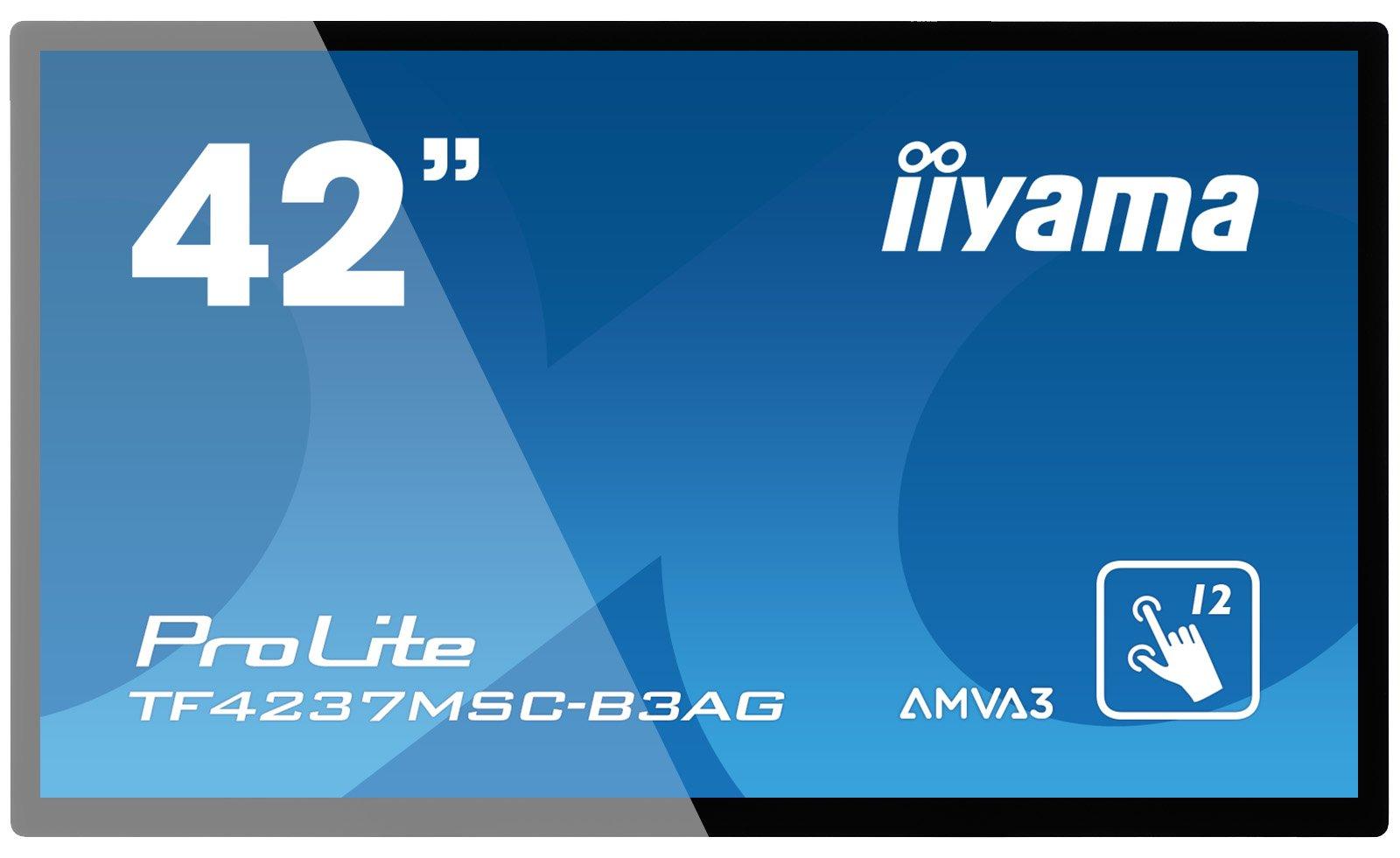iiyama TF4237MSC-B3AG 42'' LED Full HD Black public display by iiyama