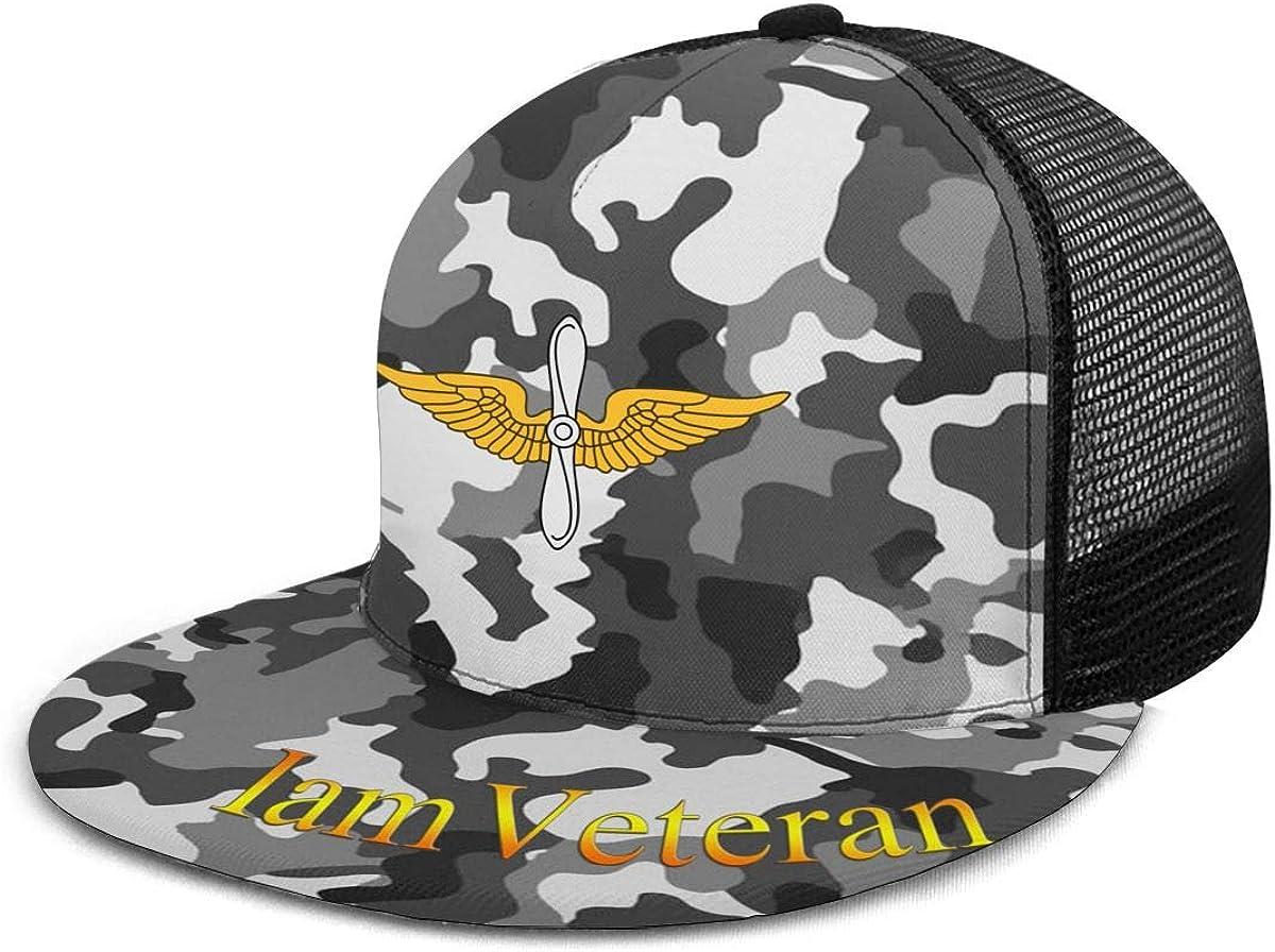 United States Army Aviation Branch Classic Grid Hop Flat Along Baseball Hats Snapback Men Women Hat Adjustable