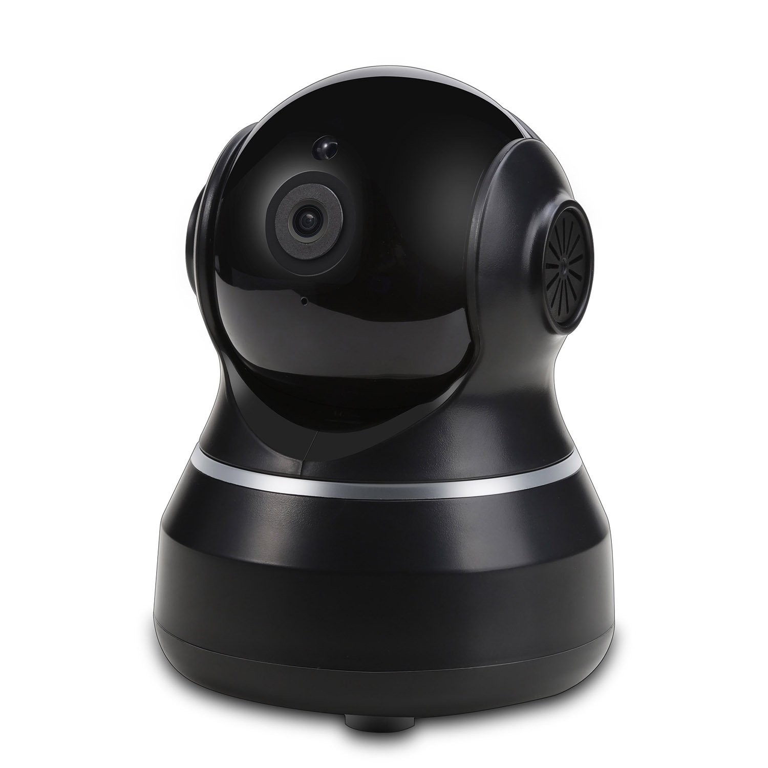 Dome Camera Pan/Tilt / Zoom Home Wireless IP Security Surveillance System 720p HD Night Vision, Remote Monitor iOS, Android App, Motion Detection Indoor Camera Micro SD Card Slot