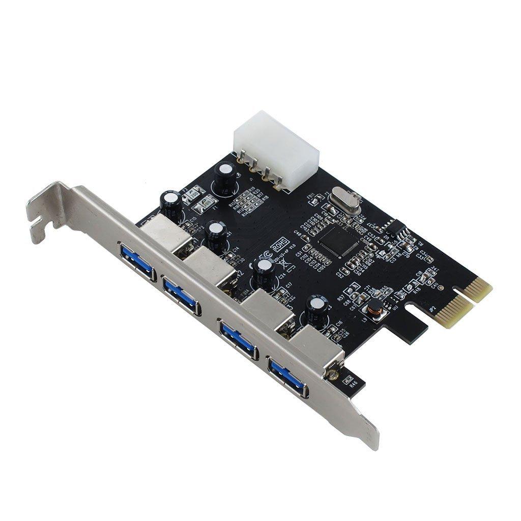 Sedna - Pci Express Usb 3.0 4 Port Adapter (4e) - Nec / Rene