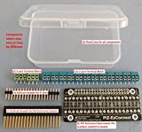 Alchemy Power Inc. PiZ-EzConnect KIT. Build your own GPIO connector for a Pi-Zero, Pi Zero W, Pi 3, Pi 2 or any other Pi/Pi-clone (e.g. Asus Tinker, PiOrange etc.). Soldering required