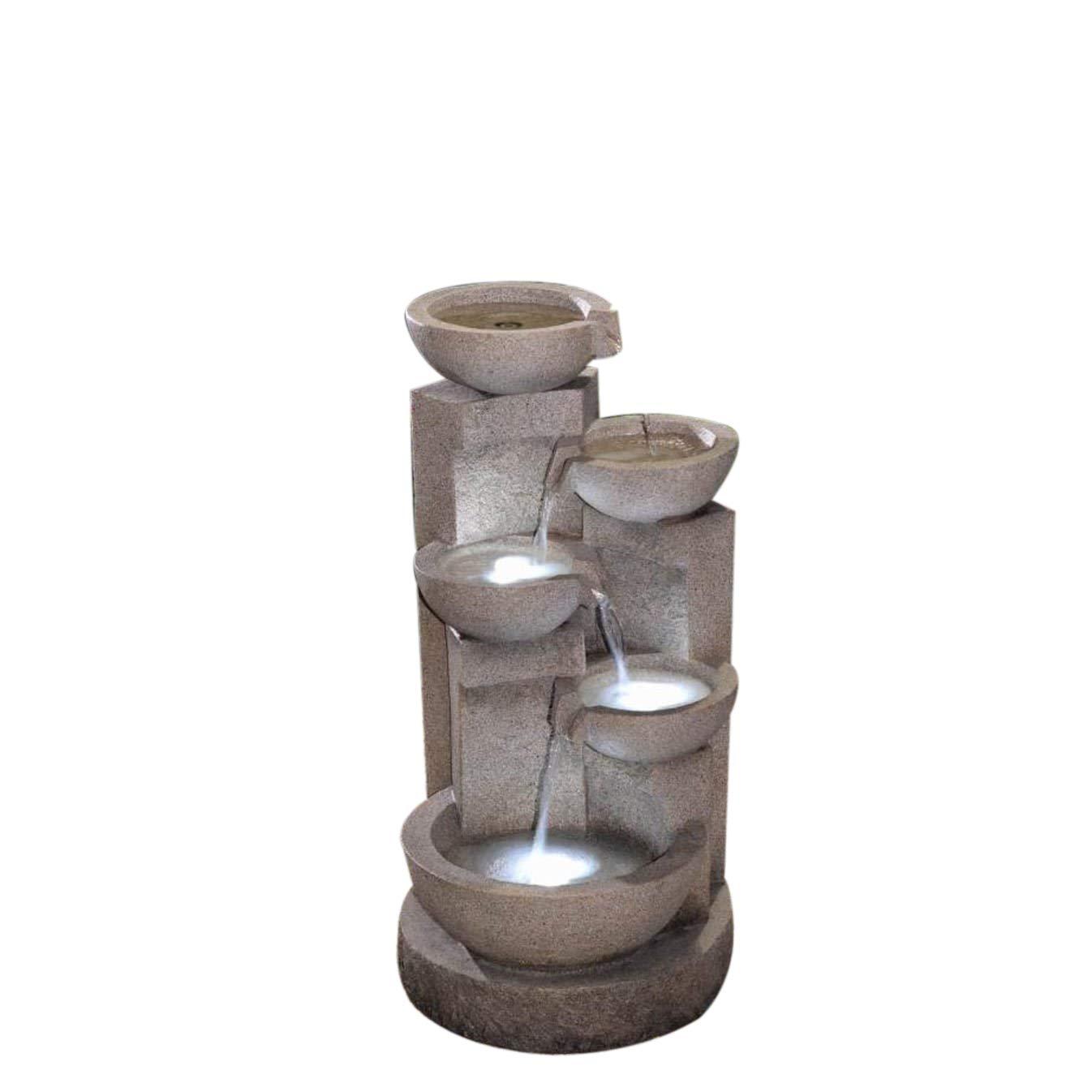 Jeco Inc.. Ciotole a fontana con luce LED