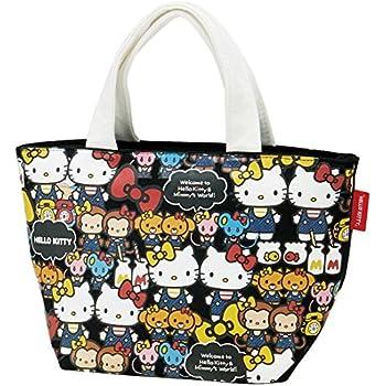 44e3556b93 Amazon.com  Skater Sanrio Hello Kitty Canvas Lunch Tote bag