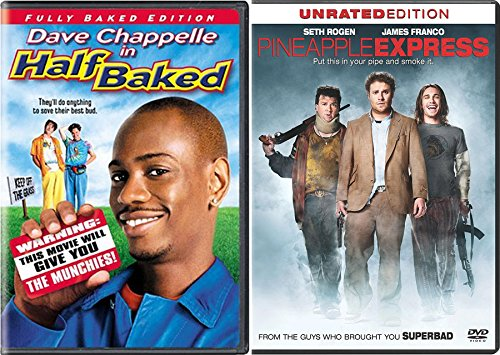 Clam Bake Collection Pineapple Express (Unrated Edition) & Half Baked (Fully Baked Edition) 2-DVD Double Feature Bundle