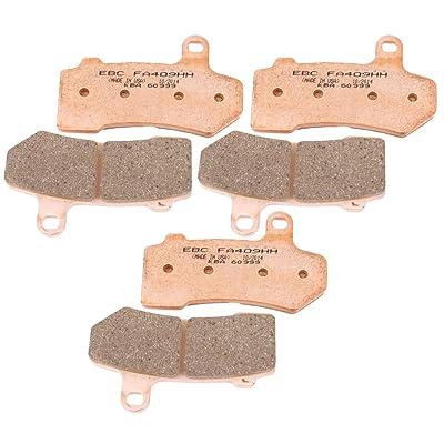 EBC Brakes EBPCK1027 Complete Double-H Sintered Brake Pad Change Kit: Automotive