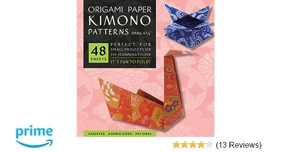 Amazon Origami Paper Kimono Patterns Small 6 34 48
