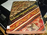 The Art of Bolivian Highland Weaving, Marjorie Cason and Adele Cahlander, 0823002640
