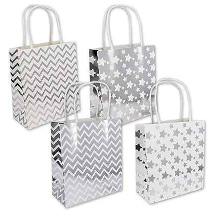 132108 - Pack de 12 Bolsas de regalo cumpleaños pequeña ...