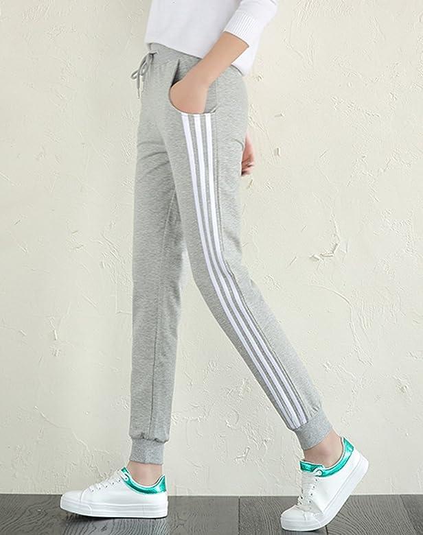 Minetom Mujeres Casuales Ropa Jogger Deportes Pantalones Acogedor ...