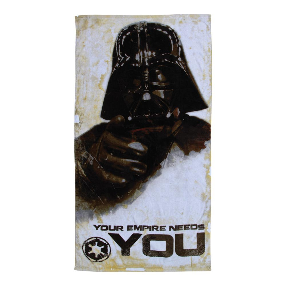 Star Wars Darth Vader Your Empire Needs You Beach Towel 30'' x 60''