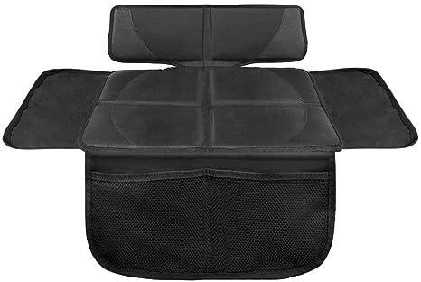 Lionstrong Kindersitzunterlage Isofix Geeignete Unterlage Für Kindersitze Sitzschoner Zum Schutz Ihrer Autositze S 1er Pack Schwarz Baby