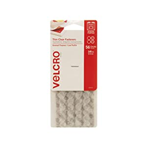 """VELCRO Brand - Thin Clear Fasteners