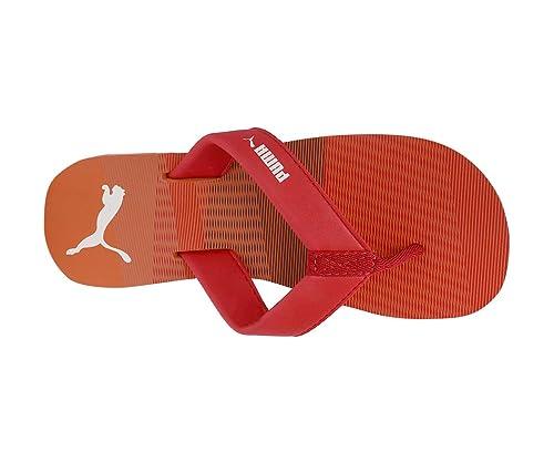14b0690f18bd57 Men s Panama V2 Idp Ribbon Red-Shocking Orange Sandals  Buy Online at Low  Prices in India - Amazon.in