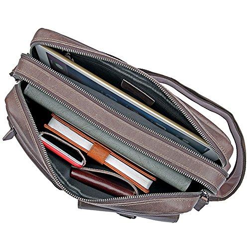 Messenger Trabajo Bags Bag Cross Mujer Cuero La Crossbody Satchel De Hombro Bolso El Funcional Para Escuela Aszhdfihas Y Travel Hombre qTtwfzE