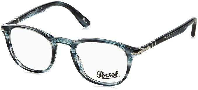 Amazon.com: Persol para hombre po3143 V anteojos, Gris ...
