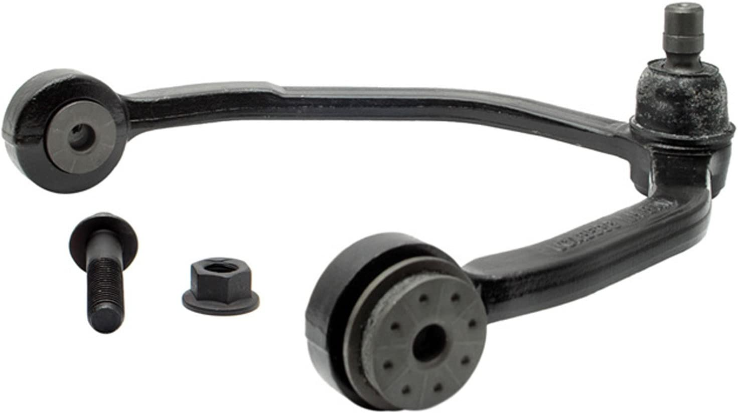 ACDelco 46D1021A Advantage Front Driver Side Upper Suspension Control Arm with Ball Joint