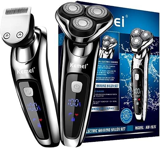 Maquinillas de afeitar eléctricas para hombres, maquinilla de ...