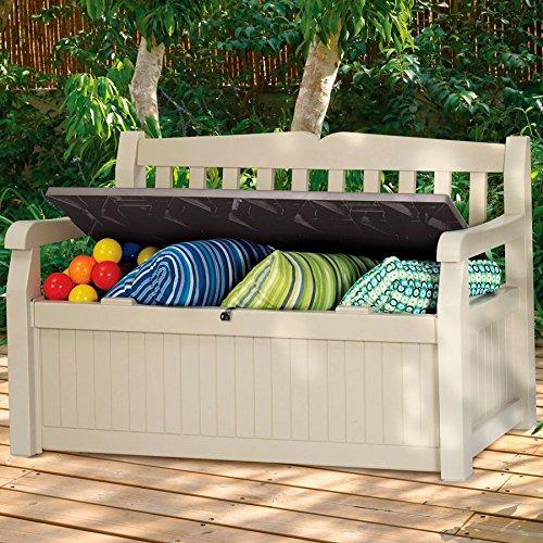 Banc Eden Garden | Keter | 265 L | 140 x 60 x 84 cms: Amazon ...