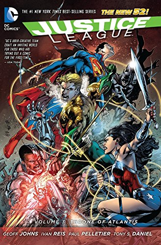 Justice League Vol. 3: Throne of Atlantis (The New 52) (Justice League: the New 52)