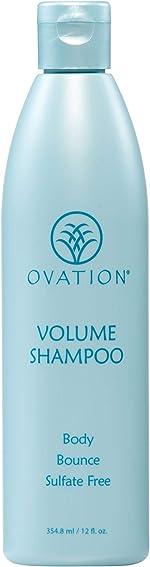 Ovation Volume Therapy Shampoo - Salon Quality, Sulfate Free Shampoo with