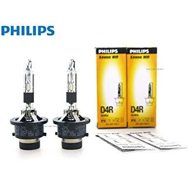 PHILIPS D4R 4300K XenEco OEM Replacement HID XENON bulbs 42406 35W DOT Germany - Pack of 2 by ALI: Automotive