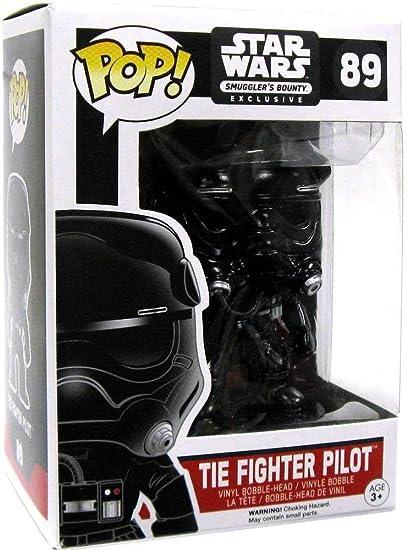 Figurine Star Wars Tie Fighter with Tie Pilot Exclusive Pop 15cm