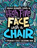 img - for A Snarky Adult Colouring Book: Some People Need a High-Five, In the Face, With a Chair (Volume 2) book / textbook / text book