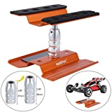 Hobbypark RC Car Work Stand Aluminum Repair Station Lift for 1/8 1/10 1/12 Scale Traxxas TRX4 Axial Arrma Redcat Losi RC Crawler Monster Truck Buggy