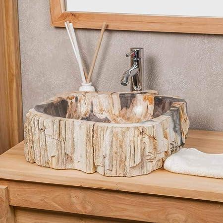 wanda collection Vasque de Salle de Bain à Poser en Bois ...