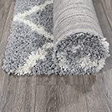 "Ottomanson Collection shag Trellis Area Rug, 3'3"" x"