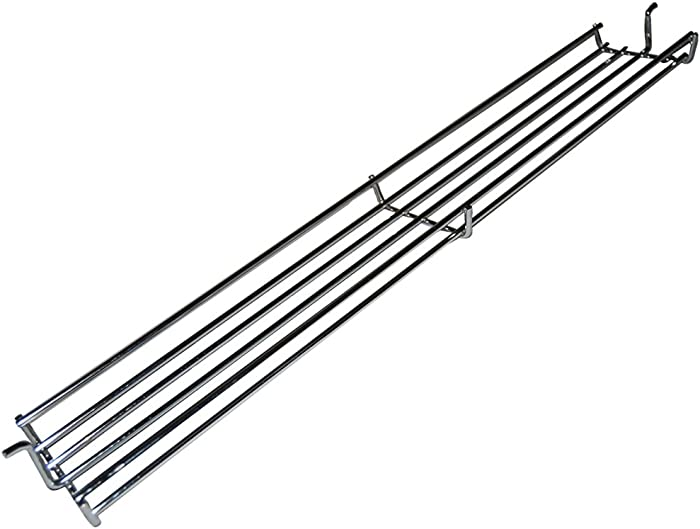 Chrome Steel Wire Warming Rack 0236 for Select Weber Gas Grill Models