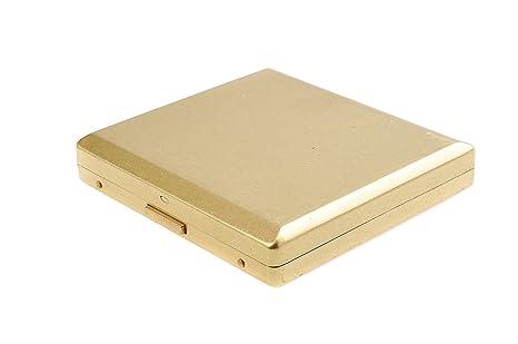 Quantum Abacus Pitillera de Cobre, Elegancia opulenta, para 18 Cigarrillos, Mod. KC9