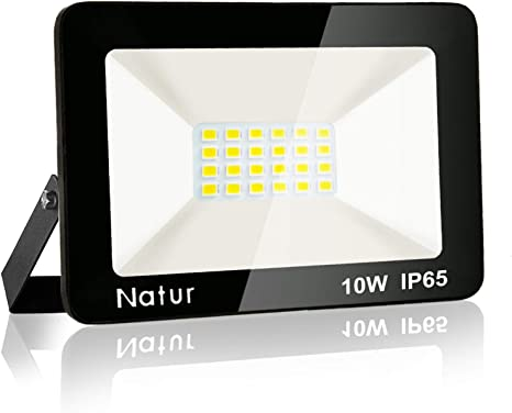LED Fluter Scheinwerfer Garagenhof Außen IP65  Flutlicht Strahler 10W Kaltweiß
