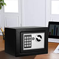 6.4L Electronic Safe Digital Security Box Home Office Cash Deposit Password S-6.4L S-6.4L