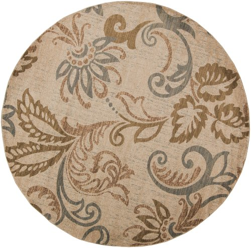 picture of Riley Camel Rug Rug Size: 8' Round