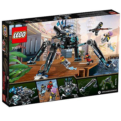 61Uc5z30ZjL - LEGO Ninjago Movie Water Strider 70611 Building Kit (494 Piece)