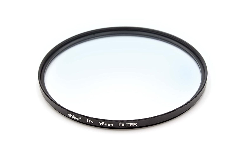 vhbw Filtro Protector UV Universal 95mm para cá maras, Objetivos Tamron SP 150-600mm F/5-6.3 Di VC USD VHBW4251476780620