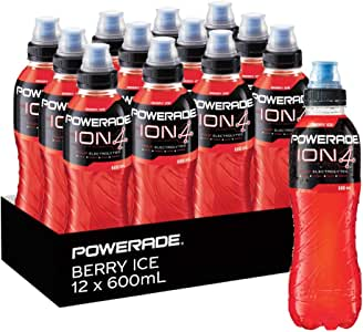 Powerade Berry Ice Sports Drink 12 x 600mL